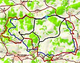 GPS-Touren Ehemaliger Truppenübungsplatz Nutzungsgenehmigung von Garmin Deutschland