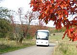 Busfahrten auf dem Truppenübungsplatz