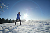 60 Kilometer Skilanglaufloipen