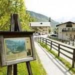 Kunstvoll: Viele Maler ließen sich von diesem Gebirge inspirieren.