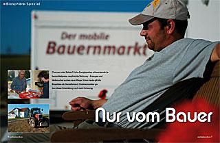 Regionalmarkt (Artiekel: Nur vom Bauer)