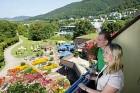 Qualität garantiert: Biosphären-Hotels werden, wie hier das Graf Eberhard in Bad Urach,  gehobene Umweltnormen bieten.