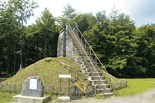 Gipfel – dank Treppe ist´s ein 700-Meter-Berg.