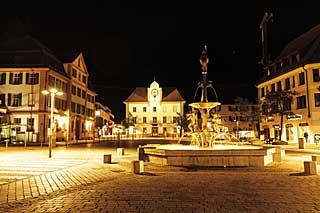 Ehingen_Brunnen_Nacht