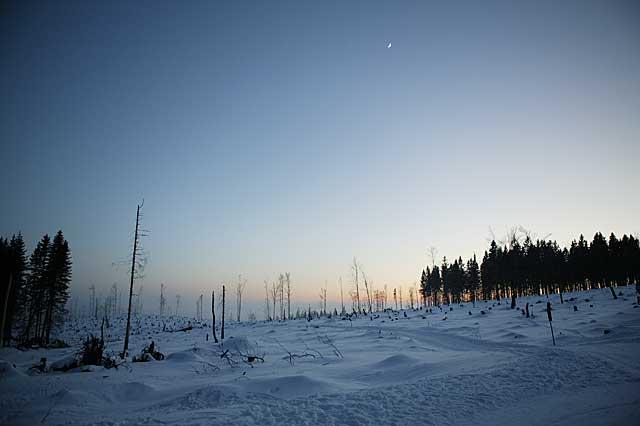 Bayerischer_wald_Kvilda_Schnee_Abend_Winter_3BFW4660